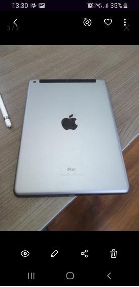 iPad 6 Geração 128 Gb + Apple Pencil + Capa Teclado Logitech