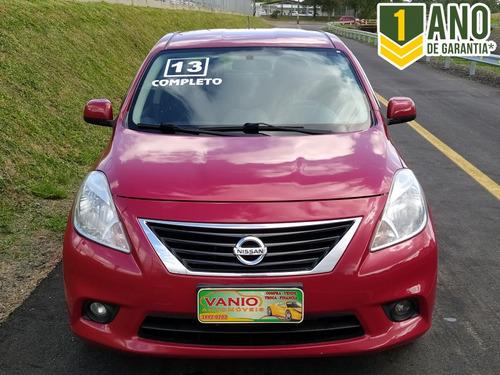 Nissan Versa Sl 1.6 16v Completo