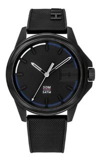Reloj Tommy Hilfiger De Hombre Deportivo Negro 1791624