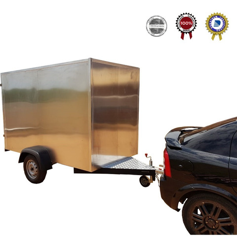 Carreta Baú Delivery - Mercado Livre- Magalu - B2w- Zero Km