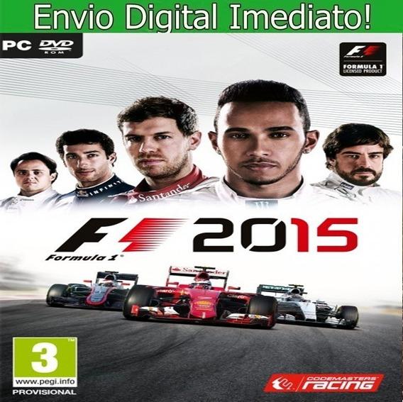 F1 2015 Pc Hd Envio Imediato.