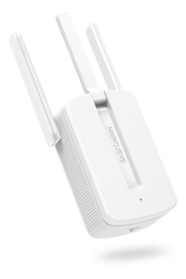 Repetidor De Sinal Wifi Wireless 300mbps 2 Antenas Mw300re