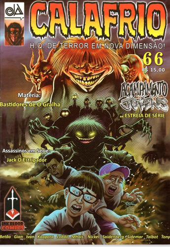 Calafrio 66 - Ink&blood - Bonellihq Cx251  R20