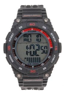 Reloj Digital Stone Táctico Sumerg 100 Mts Garantia Oferta!!