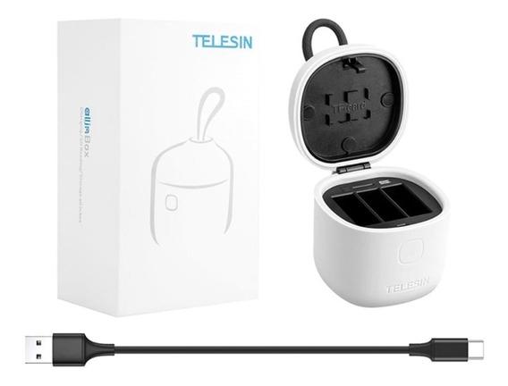 Allinbox Telesin Cargador + 1 Bateria Para Gopro