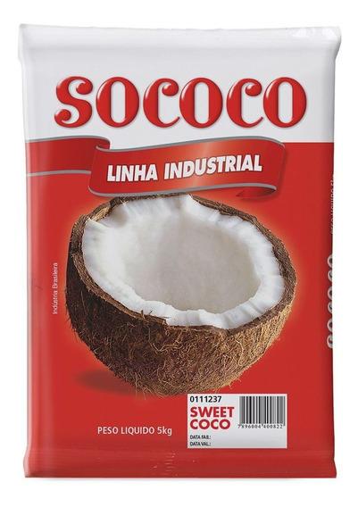 Coco Ralado Sweet Floco Sococo 5 Kg