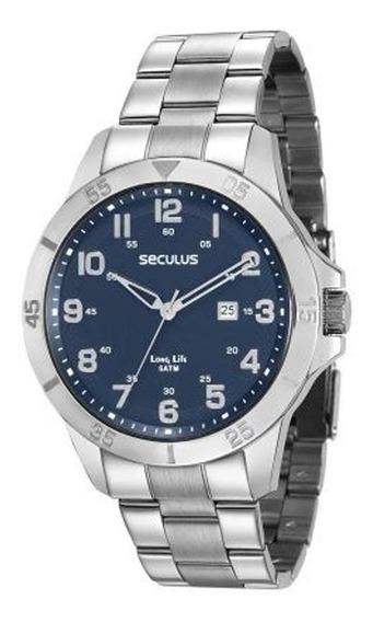 Relógio Seculus Masculino Long Life 28985g0svna2