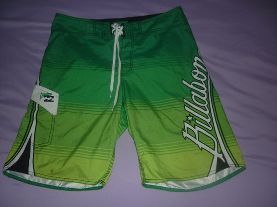 E Short Bermuda De Baño Billabong Verde Art 33419