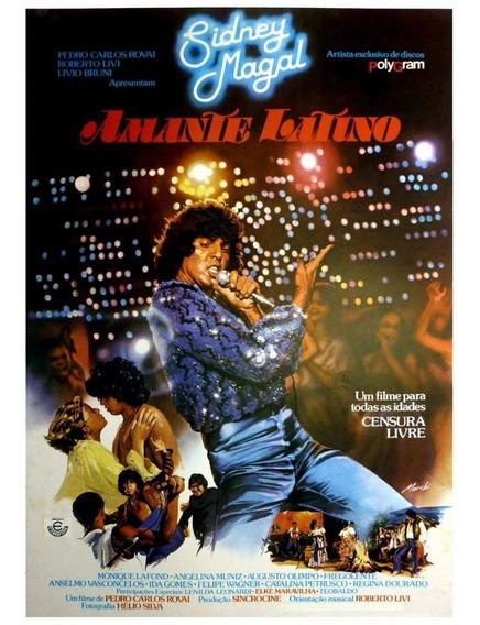 Dvd Filme Nacional - Amante Latino (1979)