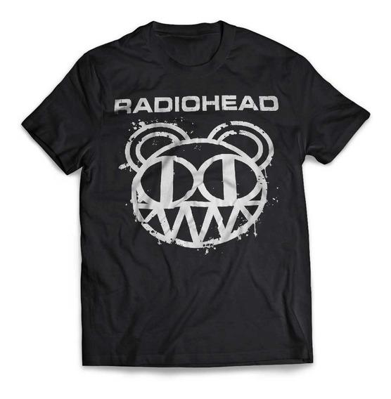 Camiseta Radiohead Logo Rock Activity