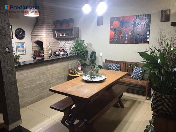 Casa Com 3 Dormitórios À Venda, 142 M² Por R$ 380.000,00 - Jardim Residencial Fibra - Nova Odessa/sp - Ca0728
