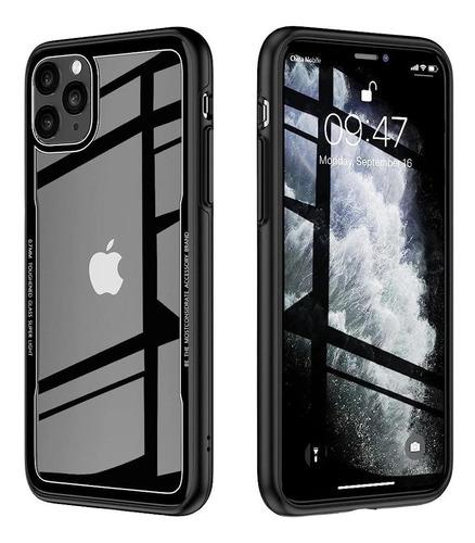 Protector Tpu Con Parte Trasera De Vidrio iPhone 11 Pro ®