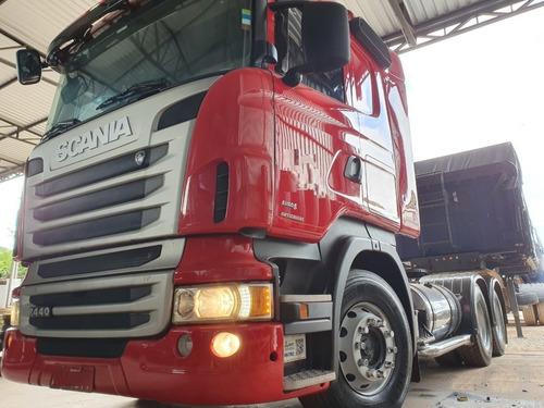 Imagem 1 de 15 de  Scania R440 6x4 Ano 2013 Freio Retarder Traçado Cavalo 6x4