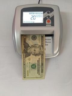 Maquina Detectora Contadora Billetes Falsos Tienda Física 70