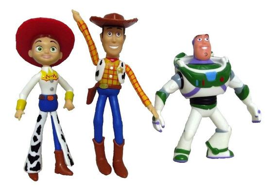 Bonecos De Vinil Toy Story- Woody, Buzz E Jessi
