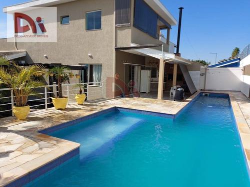 Imagem 1 de 24 de Casa Com 4 Dormitórios À Venda Por R$ 1.200.000,00 - Condomínio Residencial Jardins - Taubaté/sp - Ca0025