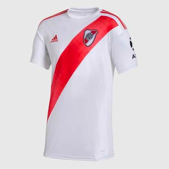 Camiseta adidas River Plate Titular Sin Sponsor Original