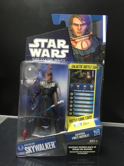 Star Wars Anakin Skywalker 3.75 Cw07 Nuevo Serie Clone Wars