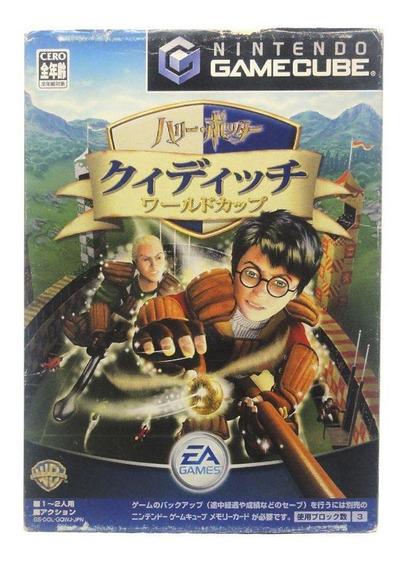 Harry Potter Quidditch World Cup Gamecube Japonês Física