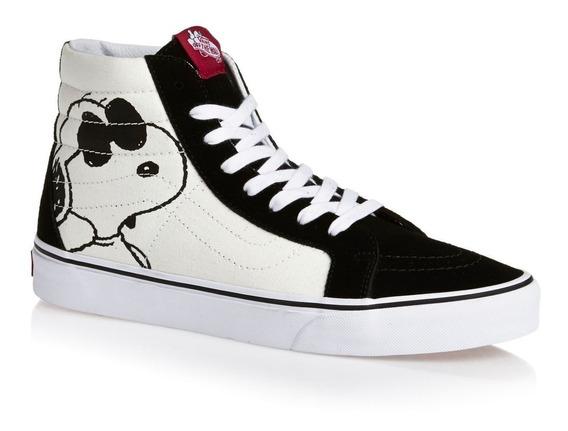 Tenis Vans Peanuts Snoopy Joe Cool/black