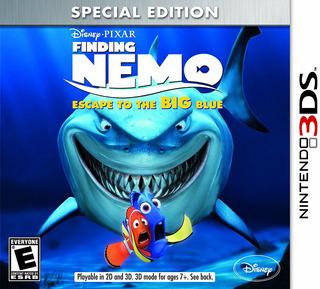Juego Nintendo 3ds Nemo Scape Big Blue - Refurbished Fisico