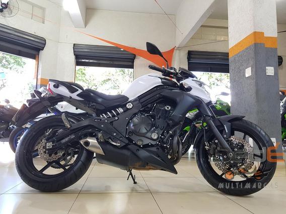 Kawasaki Er6 650 N Branco 2014