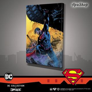Cuadros Canvas 60x40 Dc Comics Oficial Jim Lee Superman