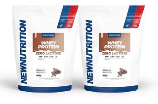 Combo 2 Whey Zero Lactose 900gr Newnutrition