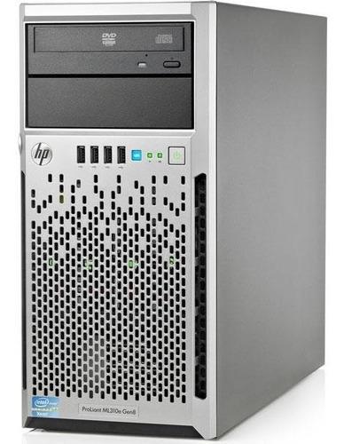 Servidor Hp Proliant Ml310e G8 V2 Xeon E3-1220 16gb Hd 2x1tb