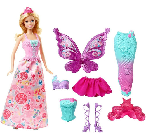 Barbie Hadas Muñeca Barbie Para Disfrazar Dreamtopia