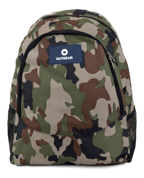 Mochila Outgear New Adventure Camuflada
