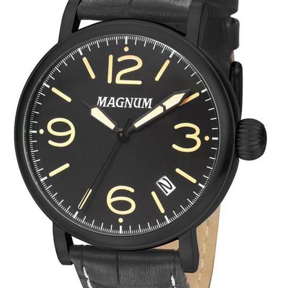 Relógio Magnum Masculino Couro Ma21964x Original + Nf