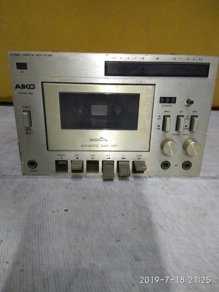 Tape Deck Aiko Td 3000 (venda No Estado)