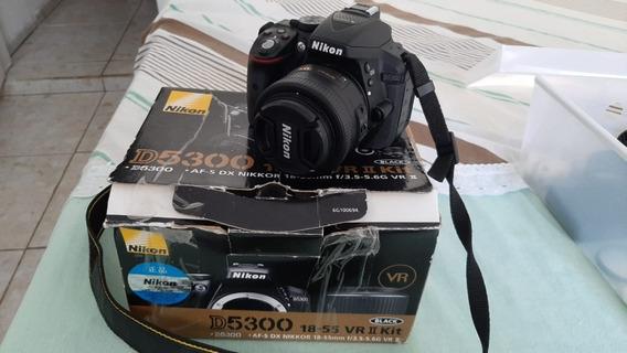 Nikon D5300 + Lente 35mm Apenas 8500 Clicks