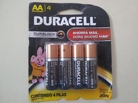 Baterias Durecel Doble Aa 4 Uninades.