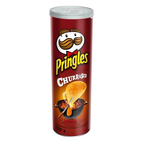 Salgadinho De Batata Pringles Churrasco 120 Grs B