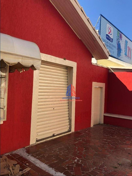 Sala Para Alugar, 38 M² Por R$ 1.500,00/mês - Nova Americana - Americana/sp - Sa0077