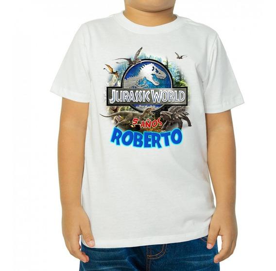 10 Playeras Jurassic World Personalizada Fiesta Infantil