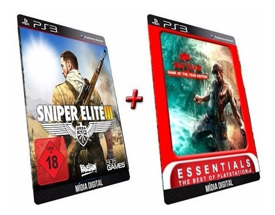 Sniper Elite 3 + Dead Island Game Ps3 Psn Digital