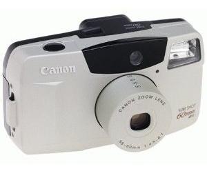 Camera Analógica [de Filme] Canon Sure Shot - 60 Mm