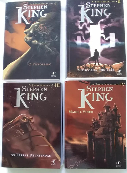 Pacote A Torre Negra Stephen King Volumes 1 2 3 4