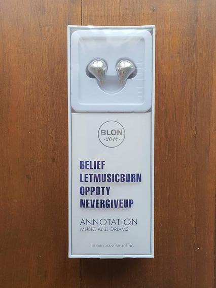 Fone Blon-bl03, Sem Mic, Retorno De Palco (ler Descrição)
