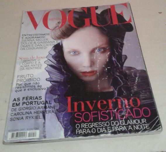 Revista Vogue Portugal Setembro 2007