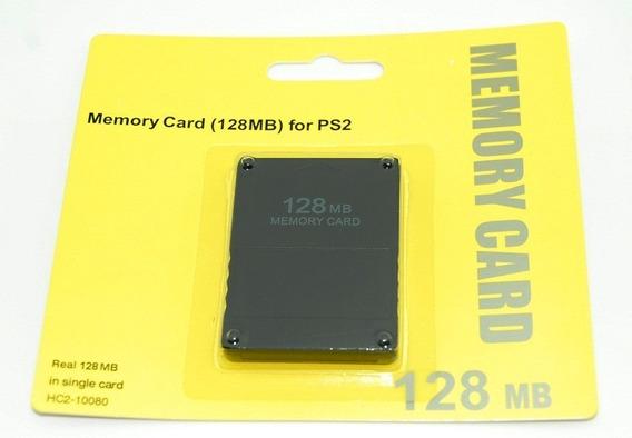 Memory Card Playstation 2 Ps2 128mb