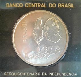 Arremate 1972 20 Cruzeiros Prata Fc Emb. Original Escassa