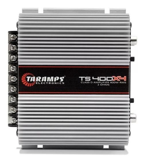 Módulo Taramps Ts400 Digital 400w Rms 4 Canais 2 Ohms Loi