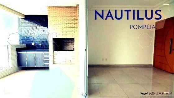 Residencial Nautilus Pompéia - Apartamento Para Venda Em Santos - Po932 - 68302118