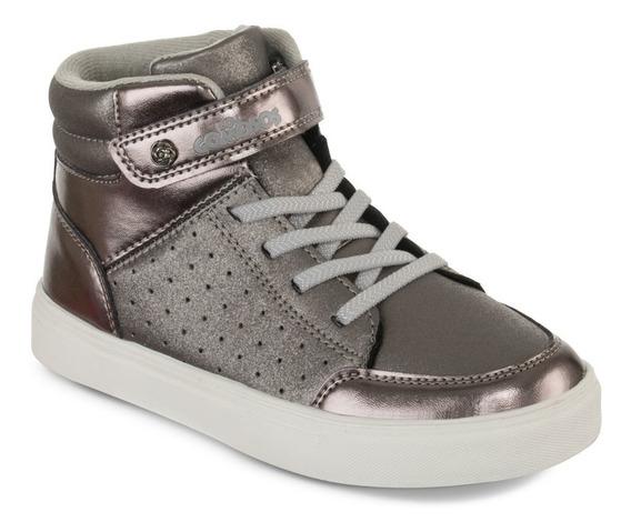 Zapato Los Gomosos Sunia Plata Para Niña
