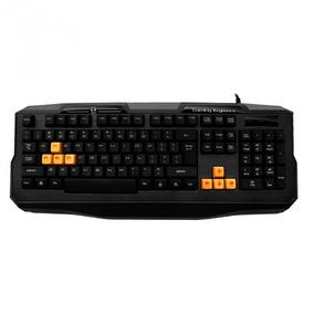 Teclado Gamer C3 Tech Kg-03 Bk Orange