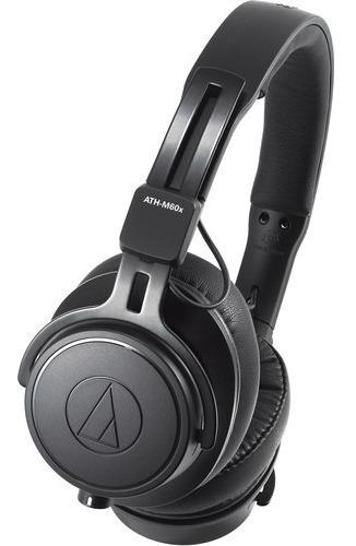 Fone De Ouvido Audio-technica M-series Ath-m60x Preto
